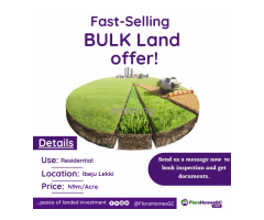 Bulk Land for sale beside Lekki Free Zone - Image 2
